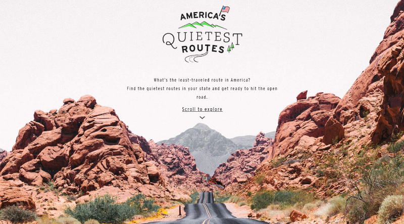 America's Quietest Routes - Geotab